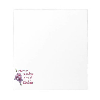 Practice Random Acts of Kindness Memo Note Pad