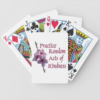 Practice Random Acts of Kindness Playing Cards
