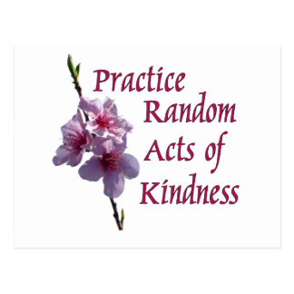 Practice Random Acts of Kindness Post Cards