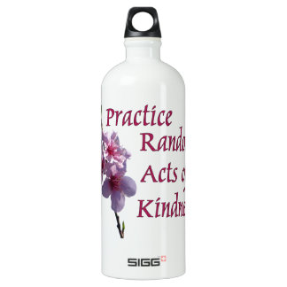 Practice Random Acts of Kindness SIGG Traveller 1.0L Water Bottle