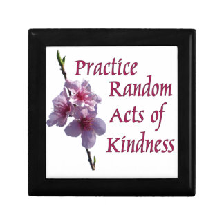Practice Random Acts of Kindness Small Square Gift Box