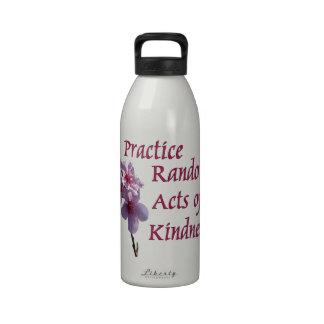 Practice Random Acts of Kindness Water Bottle