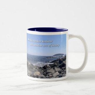 Practice Random Kindness Two-Tone Mug