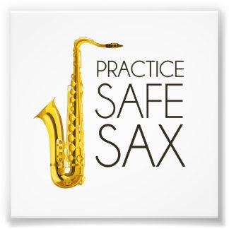 Practice Safe Sax Photo