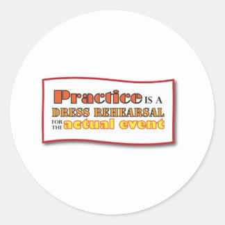 practice stickers