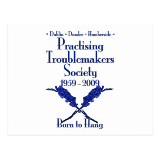 Practising Troublemakers Society Postcard