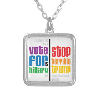Pragmatist Silver Plated Necklace