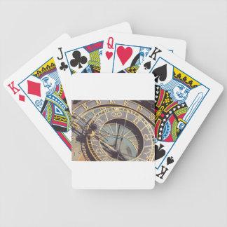 Prague Astronomical Clock Bicycle Playing Cards