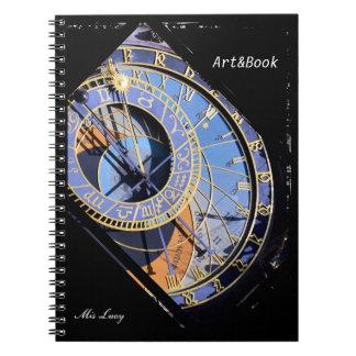 Prague, Astronomical Clock, Czech Art (Notebook) Notebooks