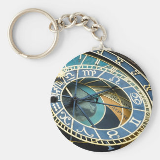Prague Astronomical Clock Keychains