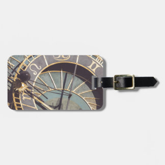 Prague Astronomical Clock Luggage Tag