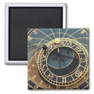 Prague Astronomical Clock Magnet