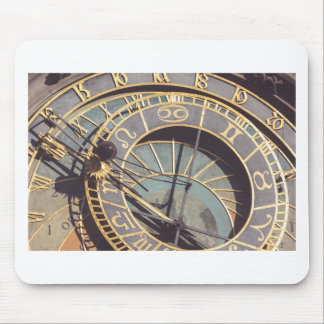 Prague Astronomical Clock Mouse Pad