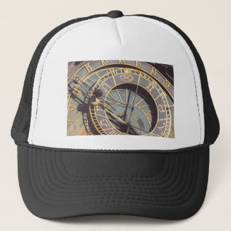 Prague Astronomical Clock Trucker Hat