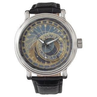 Prague astronomical clock watch