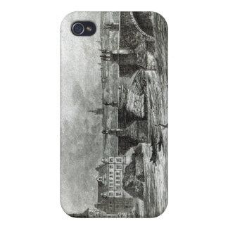 Prague Bridge, from 'Leisure Hour', 1891 iPhone 4 Case