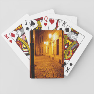 Prague by Lamplight Playing Cards