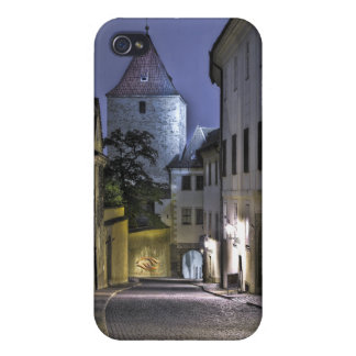 Prague Castle Dalibor Tower Night iPhone 4 Covers
