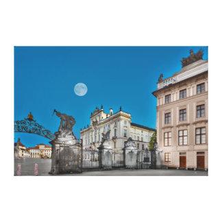 Prague Castle Gate Canvas