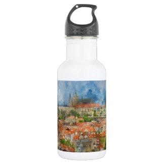 Prague Castle in Czech Republic 532 Ml Water Bottle