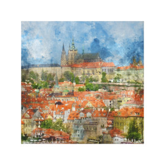 Prague Castle in Czech Republic Canvas Print