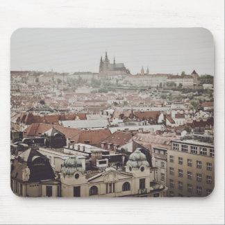 Prague Castle in the city of Prague Czech Republic Mouse Pad