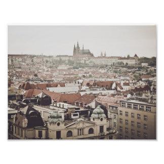 Prague Castle in the city of Prague Czech Republic Photo Print