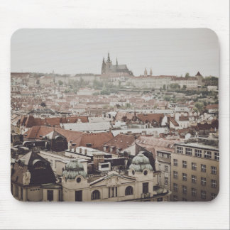 Prague Castle in the Czech Republic Mouse Pad