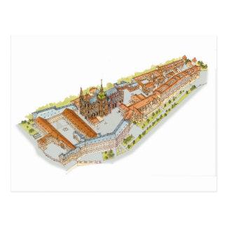 Prague Castle. Prague Czech Republic Postcard