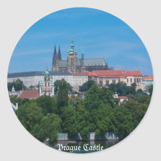 Prague Castle Sticker