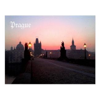 Prague Charles Bridge Postcard