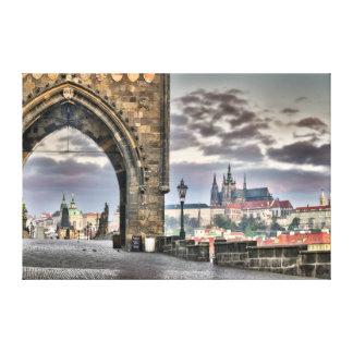 Prague Charles Bridge, St.Vitus Cathedral Canvas