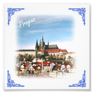 Prague city Czech republic photo print