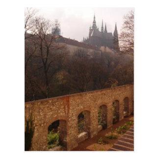 Prague Cloister Postcard