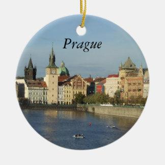 Prague Czech Gift Travel Ornament Praha