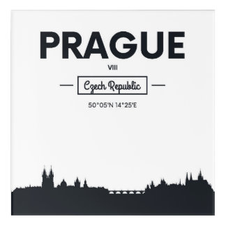 Prague, Czech Republic Acrylic Wall Art