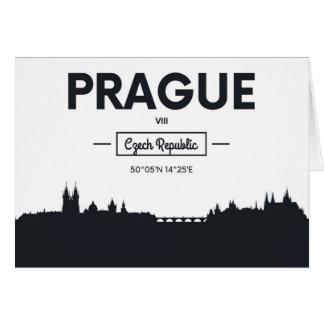 Prague, Czech Republic Card