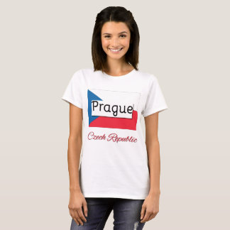 Prague Czech Republic Flag Shirt