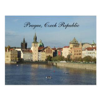 Prague Czech Republic Post Card