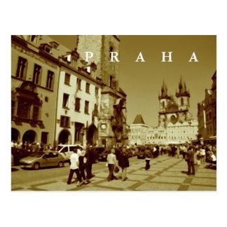 Prague, Czech Republic Postcard