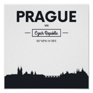 Prague, Czech Republic Poster