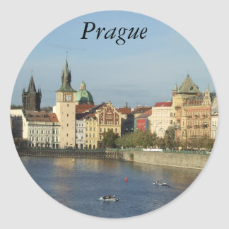 Prague Czech Republic Stickers Praha