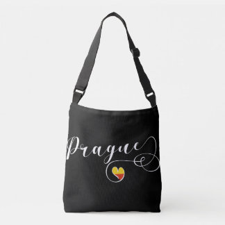 Prague Heart Bag, Czech Republic Crossbody Bag
