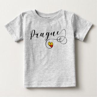 Prague Heart Tee Shirt, Czech Republic