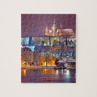 Prague in Winter Jigsaw Puzzle