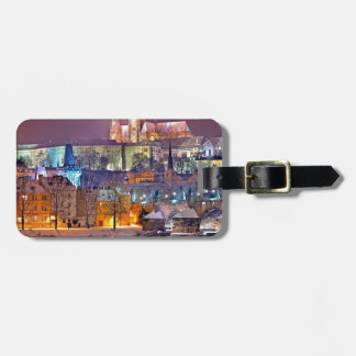 Prague in Winter Luggage Tag