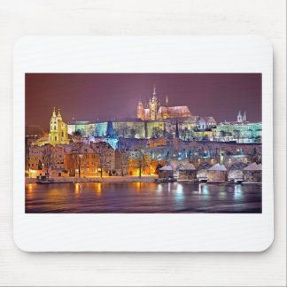 Prague in Winter Mouse Pad