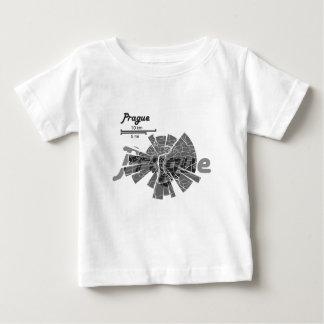Prague Map Baby T-Shirt