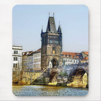 prague mouse pad