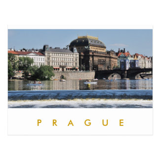 Prague – National Theatre Post Cards